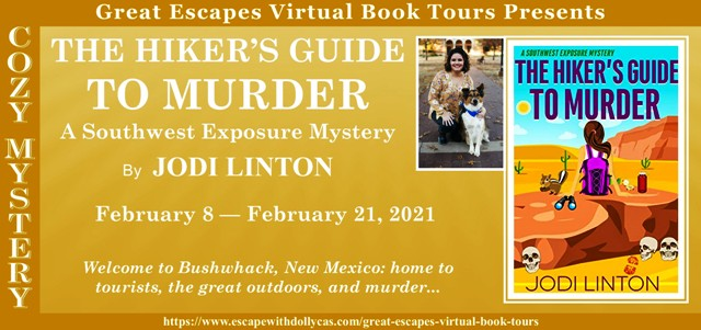 The Hiker's Guide to Murder Guest Post and Giveaway