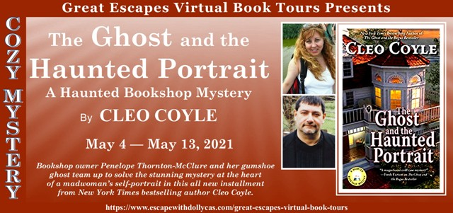 The Ghost and the Haunted Portrait Review and Giveaway