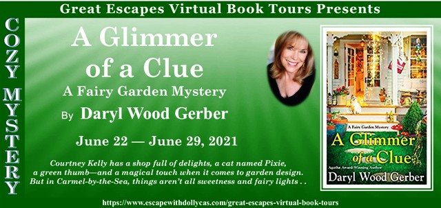 A Glimmer of a Clue Review and Giveaway