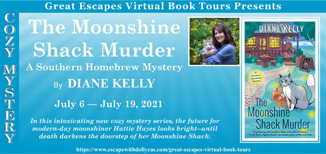 The Moonshine Shack Murder Review Guest Post and Giveaway
