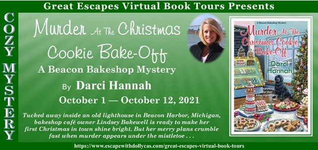 Murder at the Christmas Cookie Bake-Off Guest Post