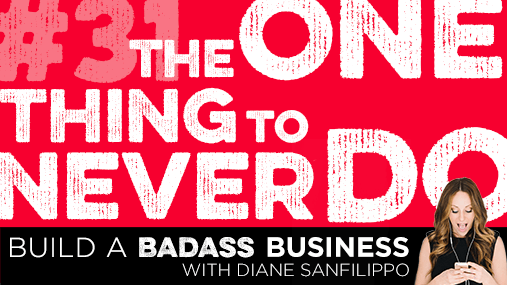 Build a Badass Business Podcast | Diane Sanfilippo