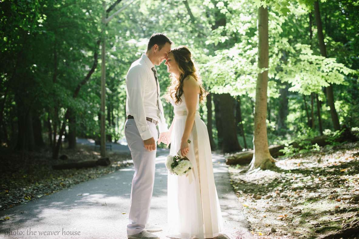 Diane Sanfilippo & Scott Mills wedding - photo by The Weaver House