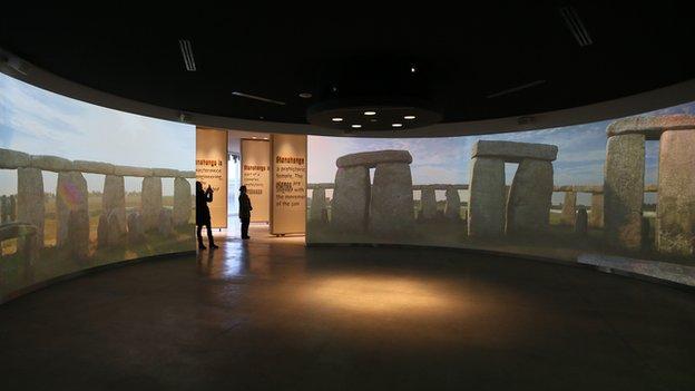 Meniru Stonehenge Visitor Center boleh kan..? :)