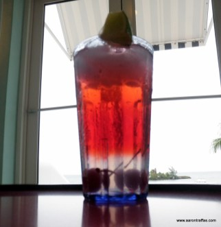 Daine's Tom Collins with cranberry