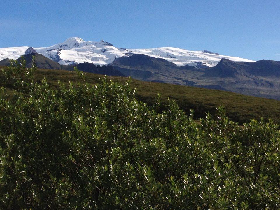 Green and glacier