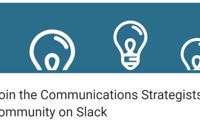 Slide into Slack for communications strategists