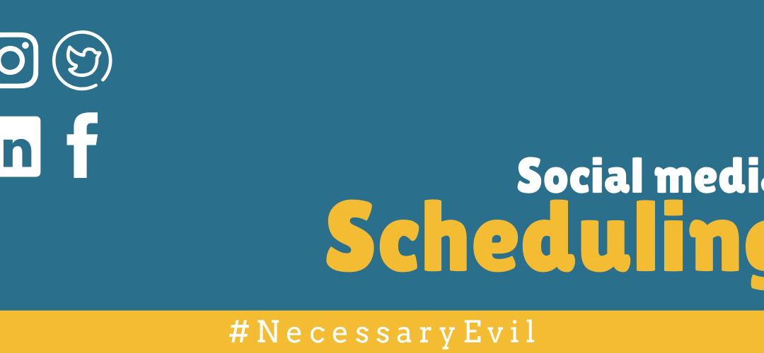 Why social media scheduling is evil