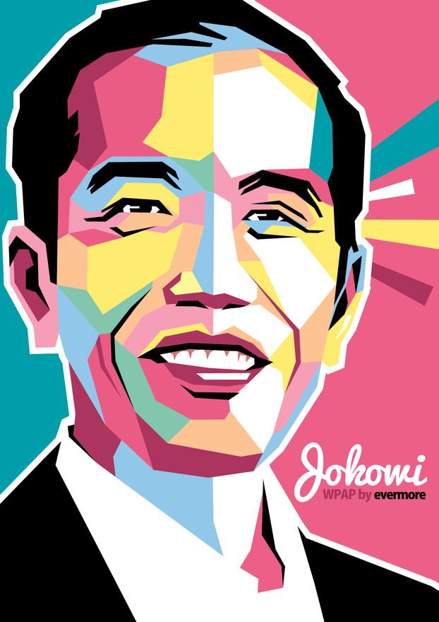 Foto WPAP Jokowi