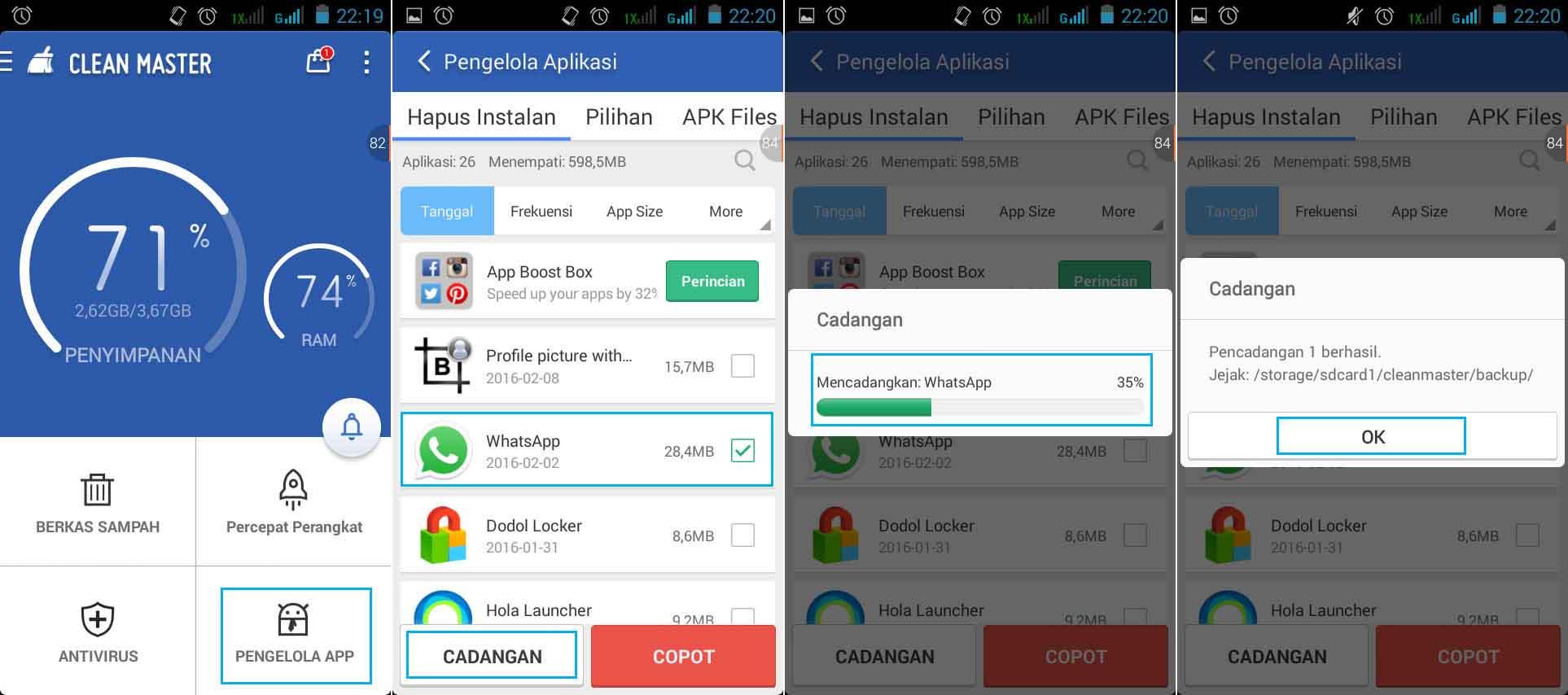 Cara Mengambil File .Apk Dari Aplikasi Android