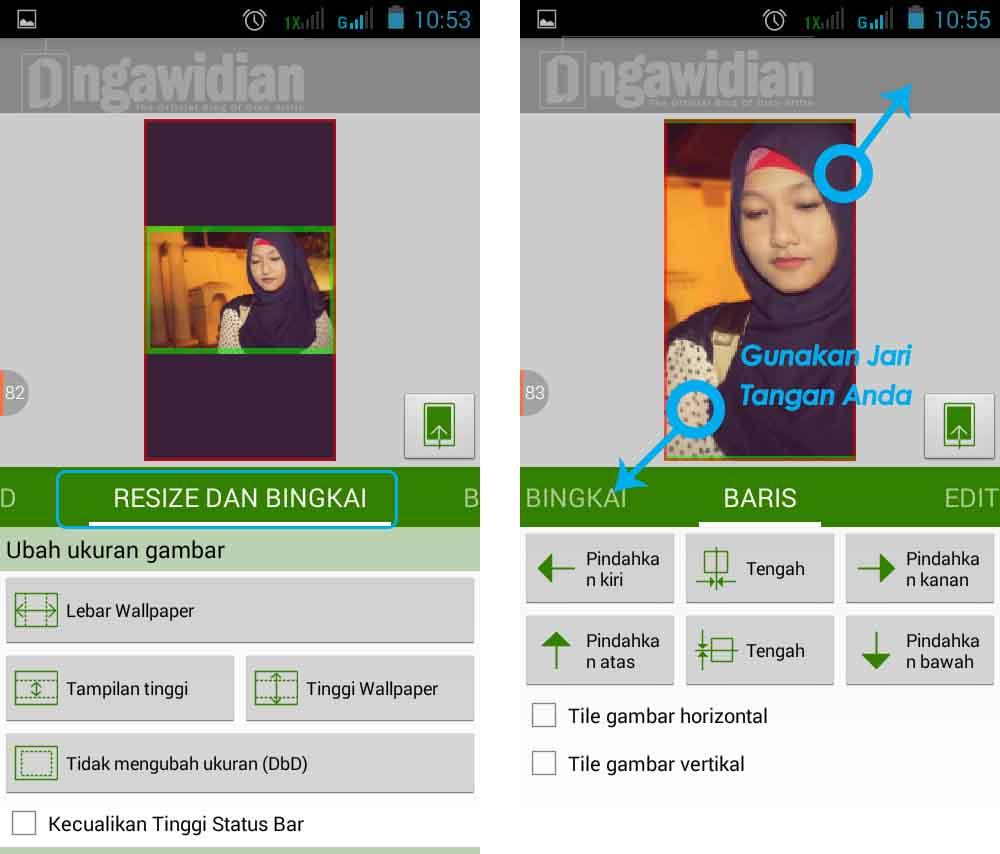 Cara Mengganti Homescreen Android Tanpa Crop
