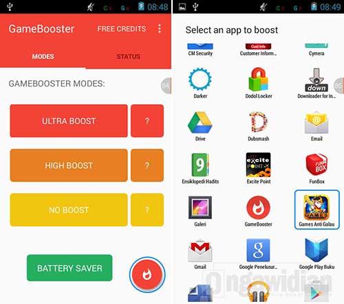 Atasi Lag Game Android Degan GameBooster