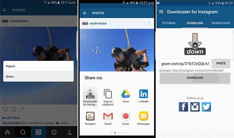 Download Aplikasi Downloader For Instagram