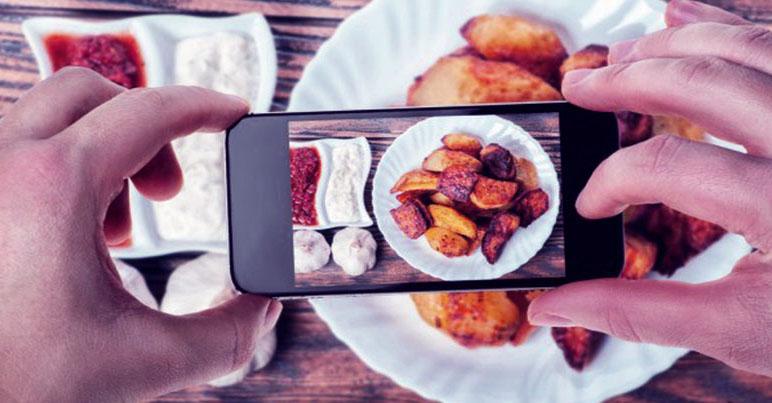 Hasil Jepretan Foto Makanan