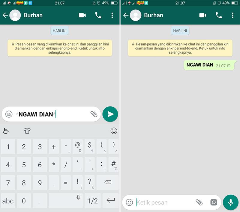 Cara Menulis Huruf Tebal di WhatsApp