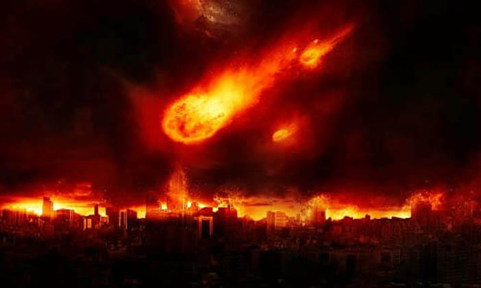 Membuat Efek Meteor Jatuh Ke Bumi 14