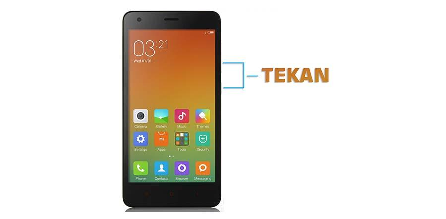 Screenshot HP Xiaomi Redmi 2