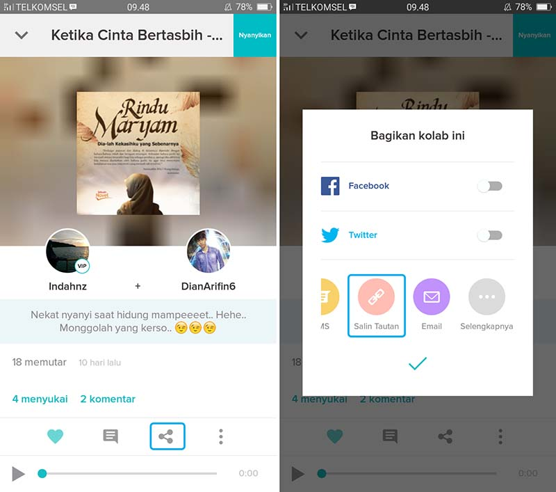 Download Audio dan Video Smule di Android