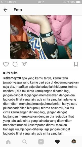 Screenshot Postingan Instagram