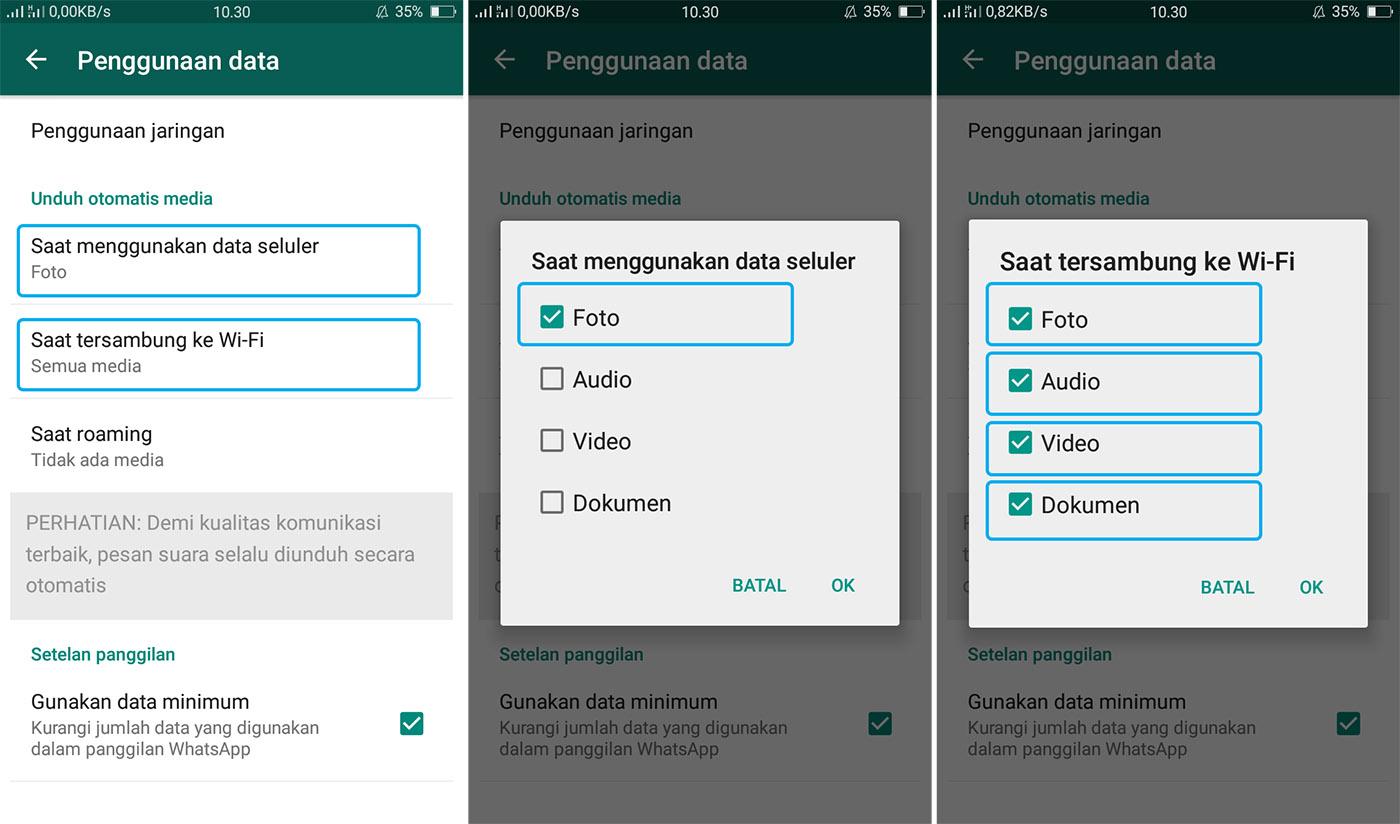 Cara Agar Whatsapp Tidak Menyimpan Foto Secara Otomatis Dianisa Com