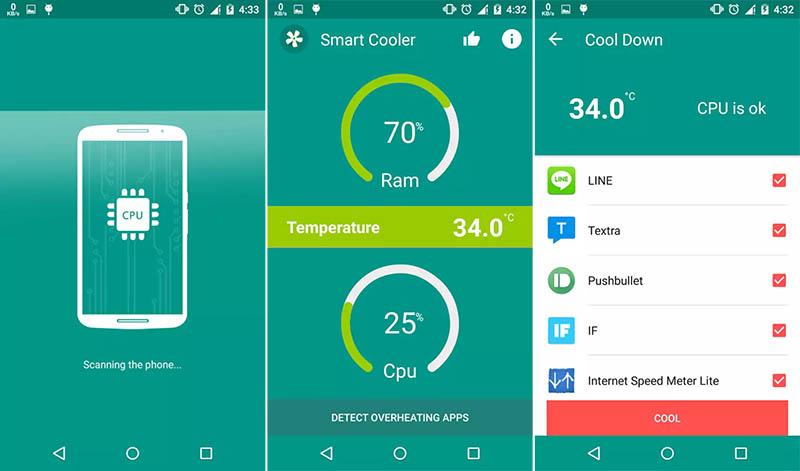 Smart CPU Heat Cooler