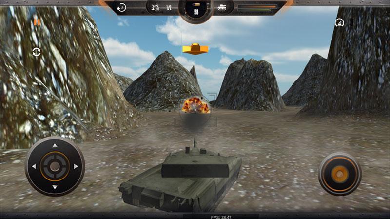 Tank Simulator Battlefront