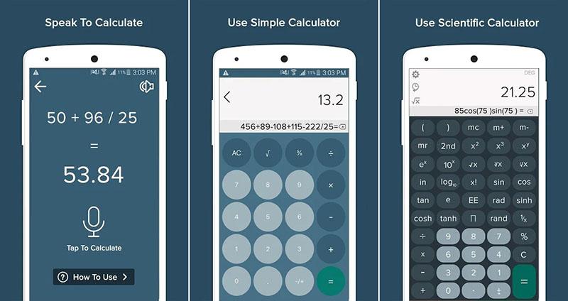 Kalkulator suara