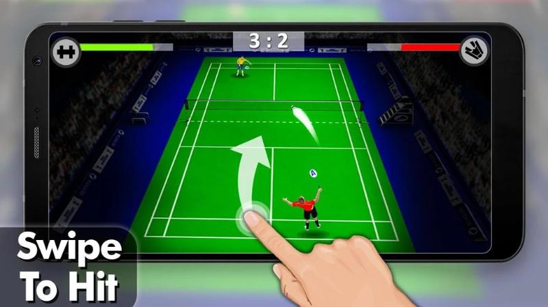 Game Badminton Liga 3D