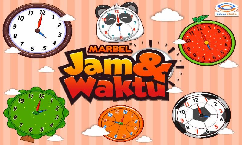 Marbel Belajar Jam & Waktu