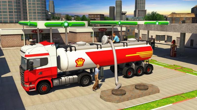 Oil Tanker Truck Driving 2018