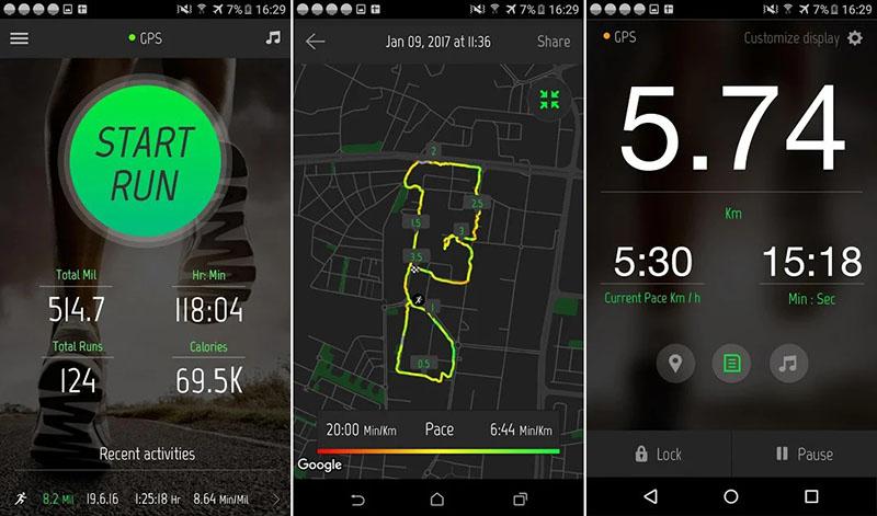 Running Distance Tracker+