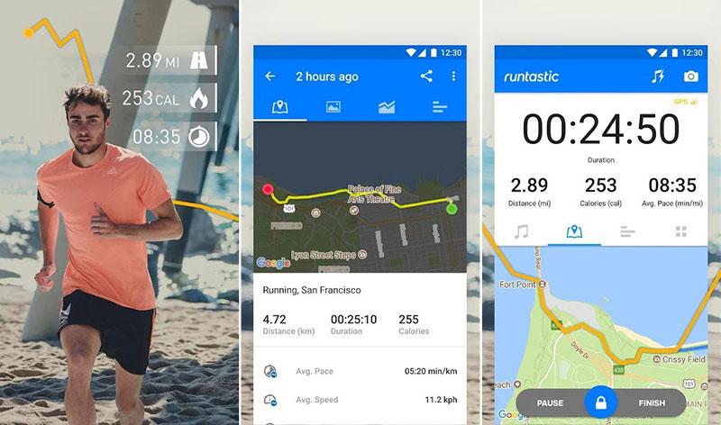 Runtastic Running & Mile tracker