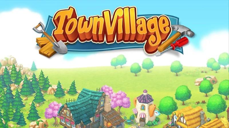 Town Village Ternak, Bangun, Dagang, Farm, Build