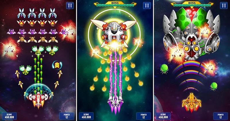 Galaxy Attack Perang Alien Invaders