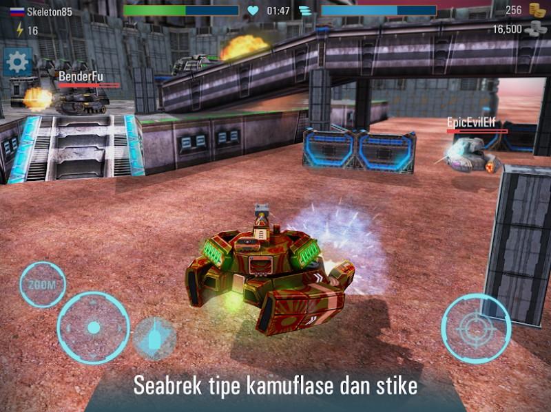 Iron Tanks 3D Online Battle