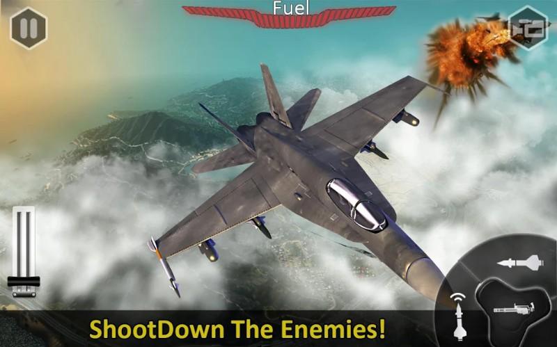 Jet Udara Pemogokan Misi 3D