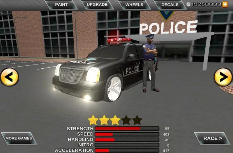 Polisi Nyata Crime City driver