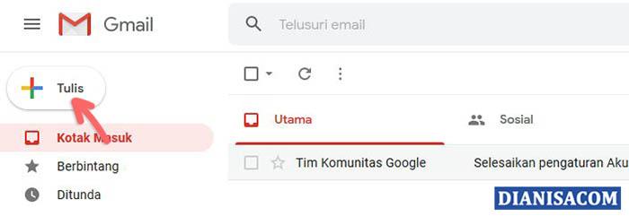 1. Membuat Pesan Email Gmail