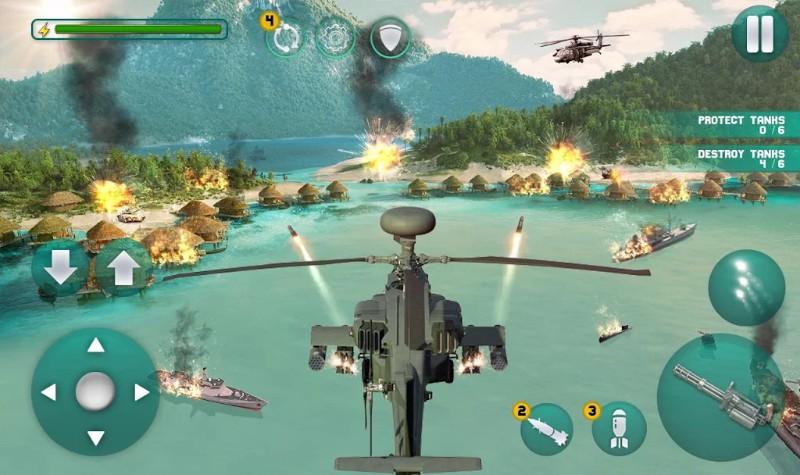 Helikopter Penembakan