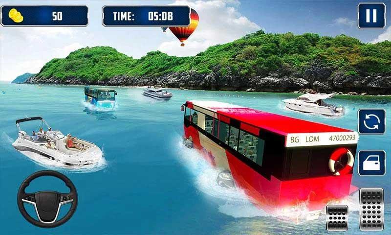 Sungai Bis layanan kota turis bis simulator 2018