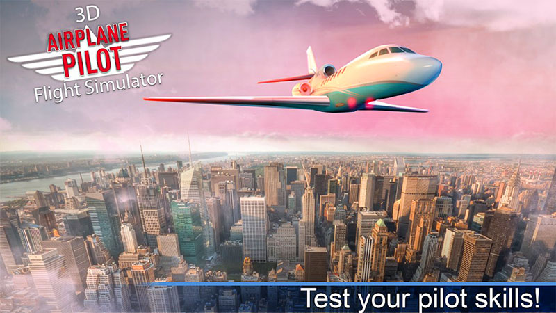 Pilot pesawat - tiket Pesawat Simulator 3D
