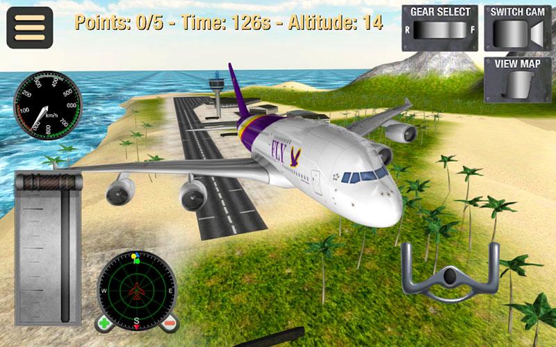 Simulator Penerbangan Pesawat