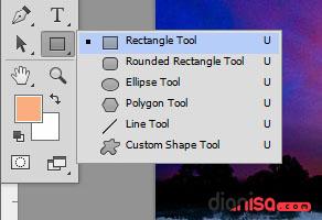 2. Rectangel Tool