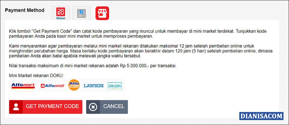 12 Payment Method Doku di AliExpress