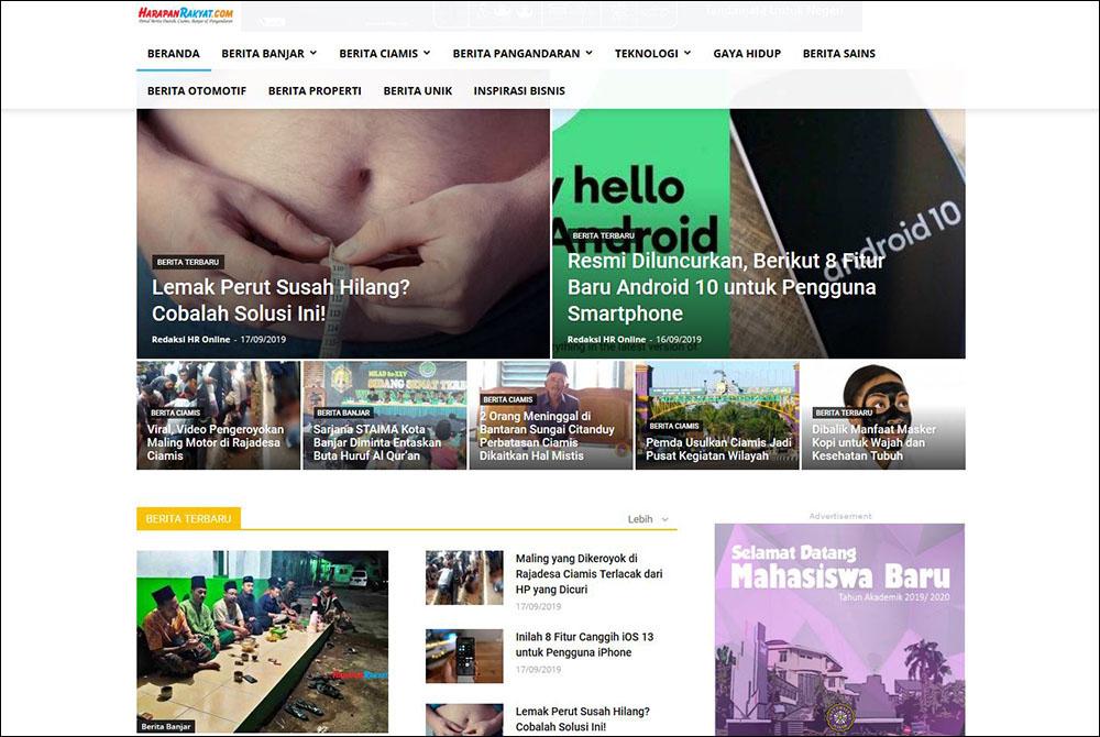 Portal Medi Lokal Harapan Rakyat