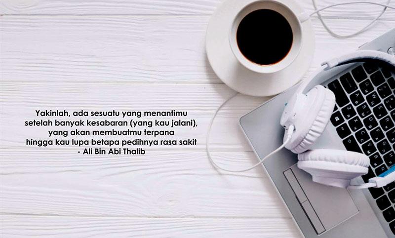 110 Kata Bijak Ali Bin Abi Thalib Ilmu Kehidupan Sahabat Cinta Dll