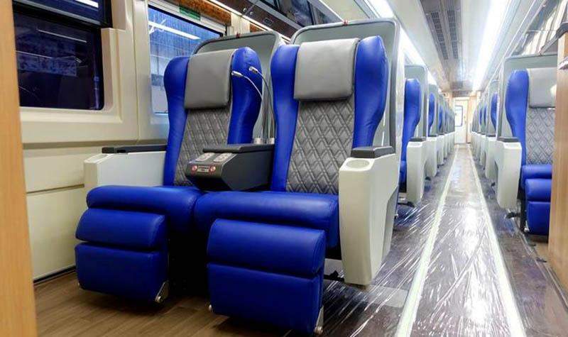 Fasilitas Kereta Api Gajayana
