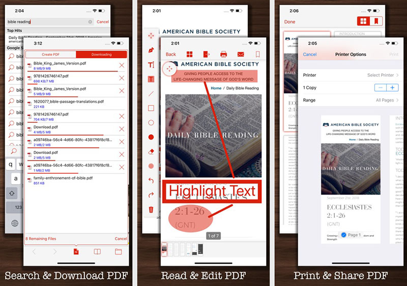 Konversi PDF ke Word iPhone