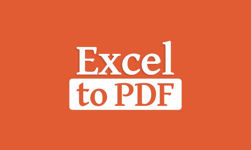 Merubah Excel Ke Pdf