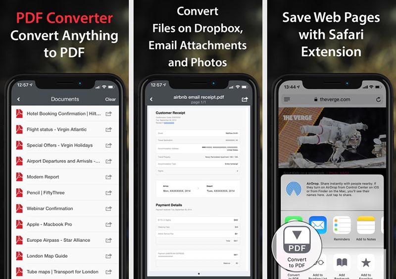 PDF Converter iOS
